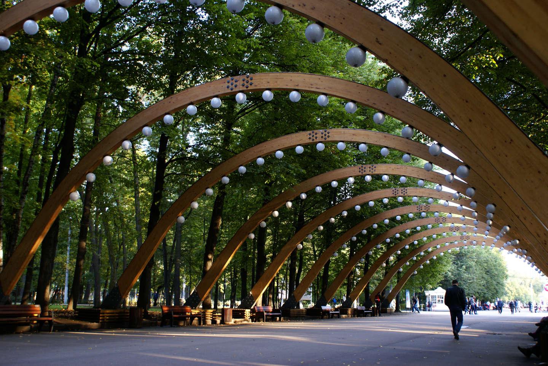 Москва парк сокольники фото