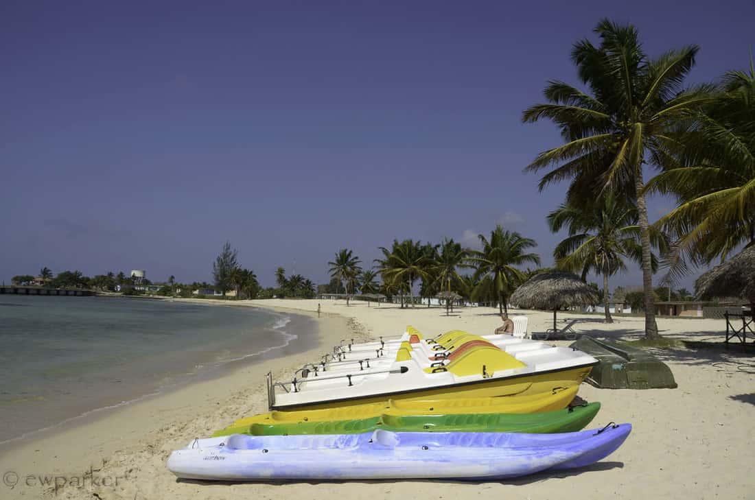 пляж Плайя-Хирон, Куба