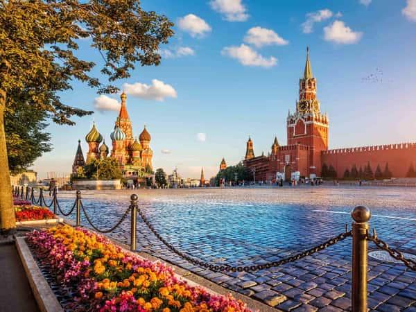 Обзорная экскурсия по Москве на автобусе (4 часа)