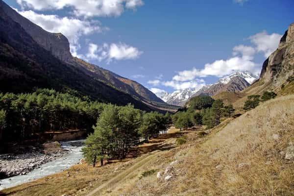 Чегемское ущелье, Абай-Су и Техтенген