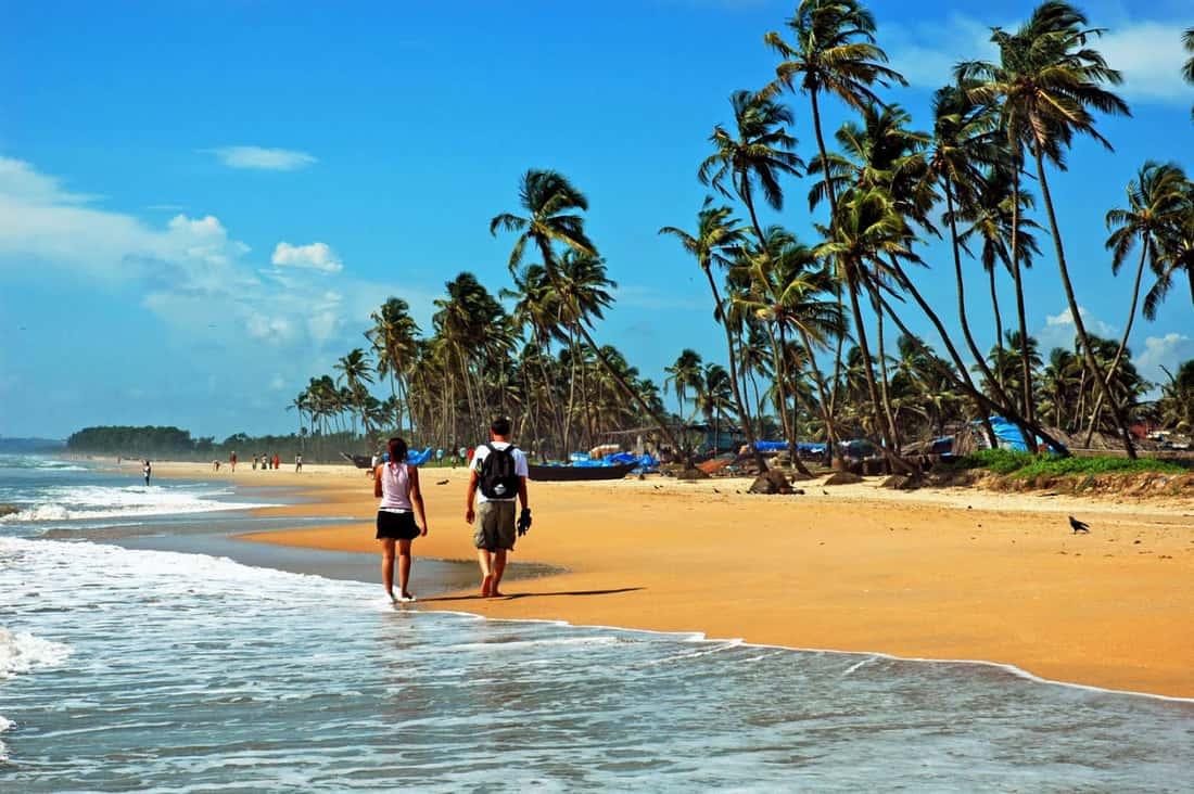 Пляжи северное гоа фото туристов