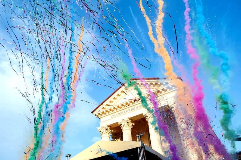 Празднование в честь открытия Курортного сезона в Сочи