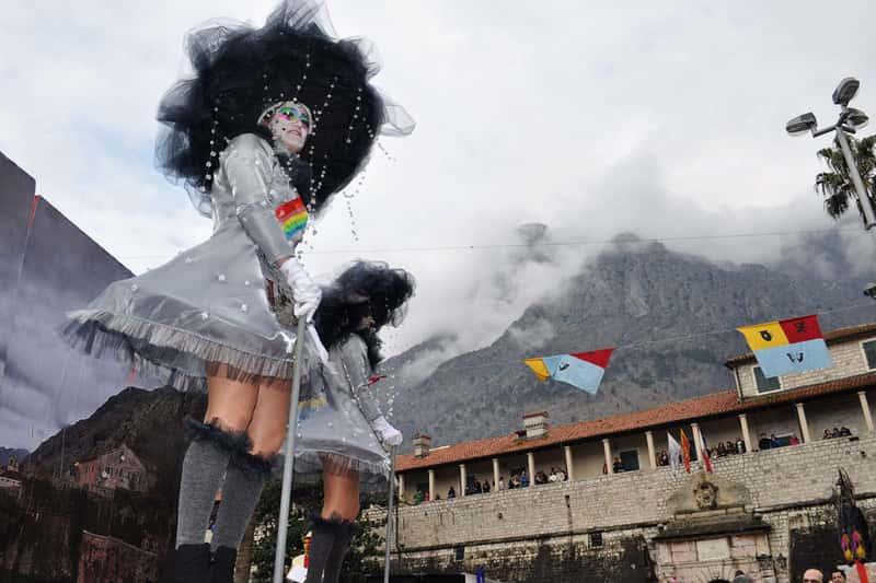Карнавал в Которе, Черногория