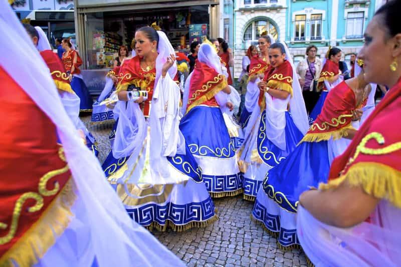 Празднование Дня Святого Антония, Лиссабон, Португалия
