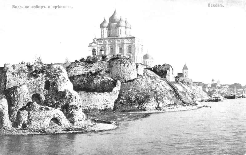 Старые фотографии Пскова, Благовещенский собор