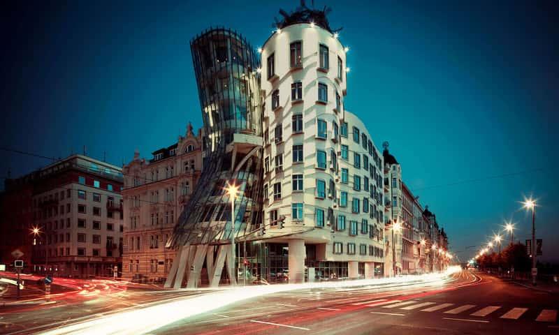 Dancing house hotel (Танцующий дом), Прага