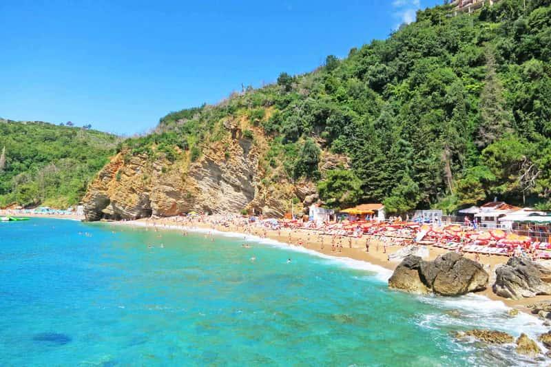Пляж Могрен, Черногория