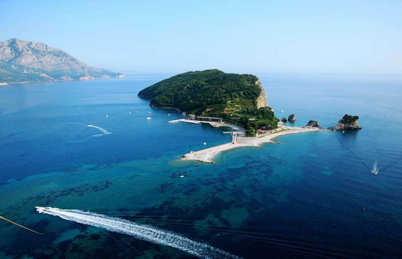 Остров Святого Николая, Будва, Черногория